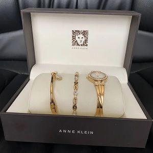 Anne Klein bracelet set